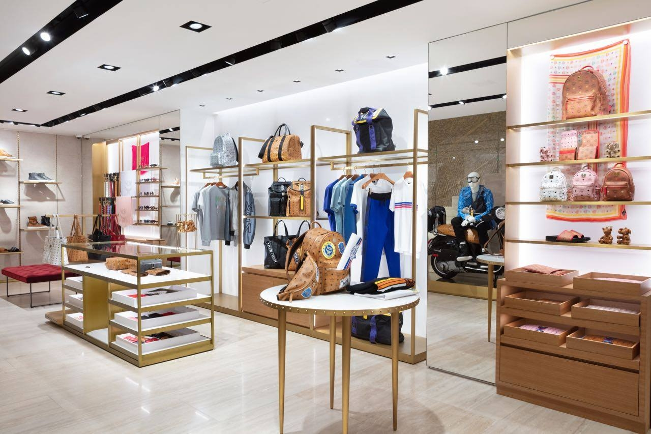 MCM Worldwide flagship store  in Los Angeles designed by Kenneth Park