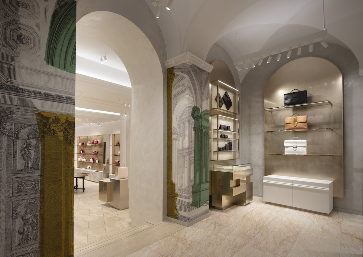 Delvaux first boutique in Rome by Vudafieri-Saverino Partners