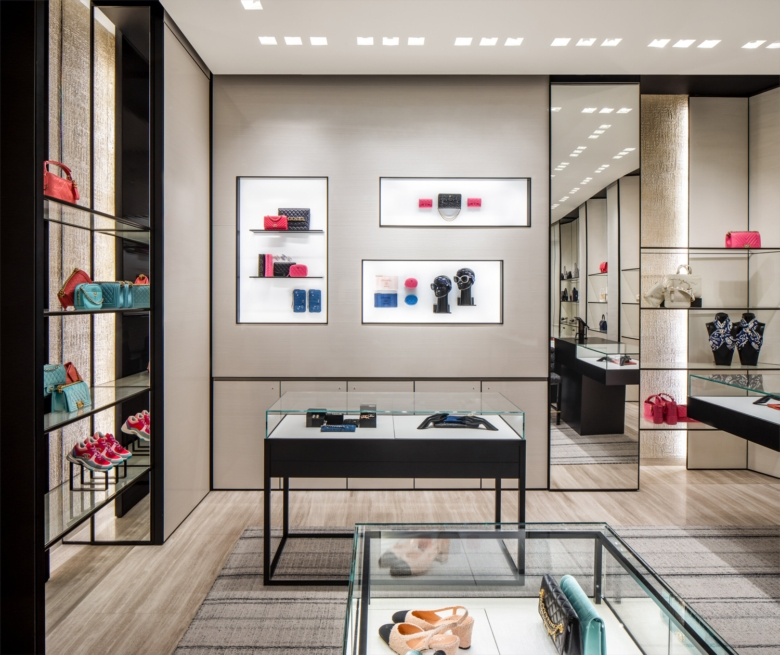 Chanel store design in Calgary by Peter Marino