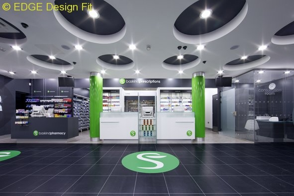 baskind pharmacy design
