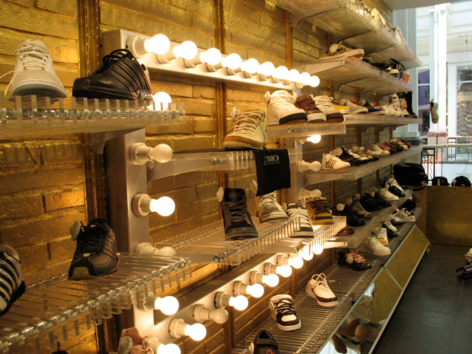 ZOO shoes concept store design in Chile