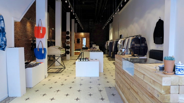 board of trade -clothing concept store in vancover
