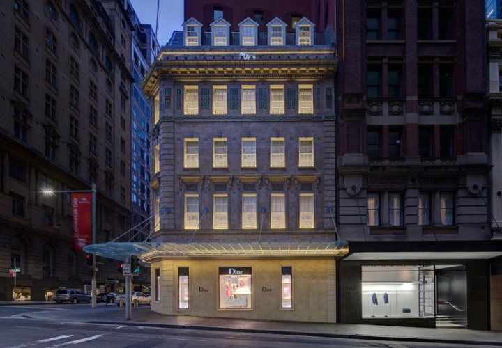 christian dior - the new dior  luxurious homme flagship in sydney