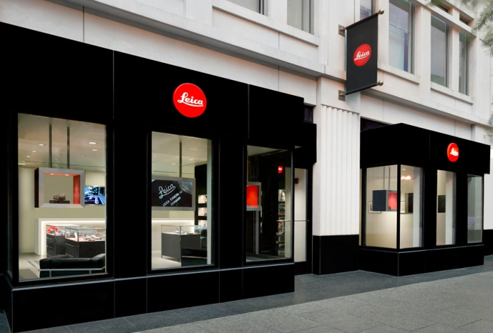 Leica store design in Washington dc