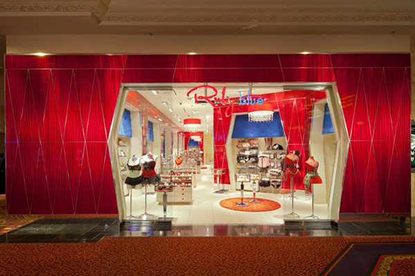 Ruby Blue concept store from Las Vegas ,Mandalay Bay Hotel
