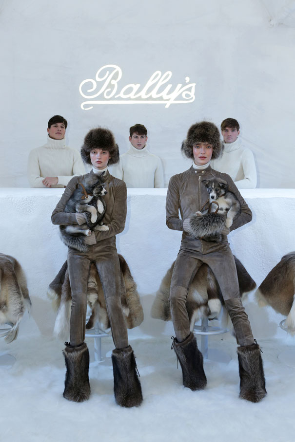 BALLY: AW13 SNOW HOTEL, MILAN FASHION WEEK