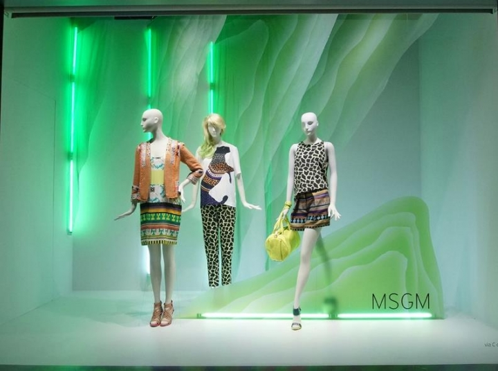 Nordstrom Seattle - FLAGSHIP MAY WINDOW DISPLAYS