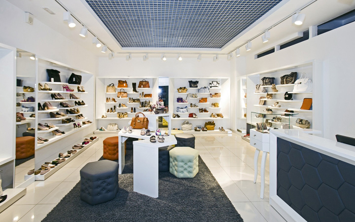 SHOES.RU concept store by A+D design