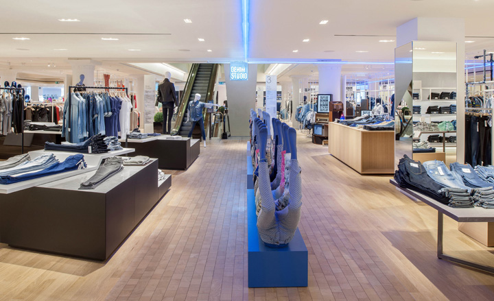 Selfridges Denim Studio by HMKM, London