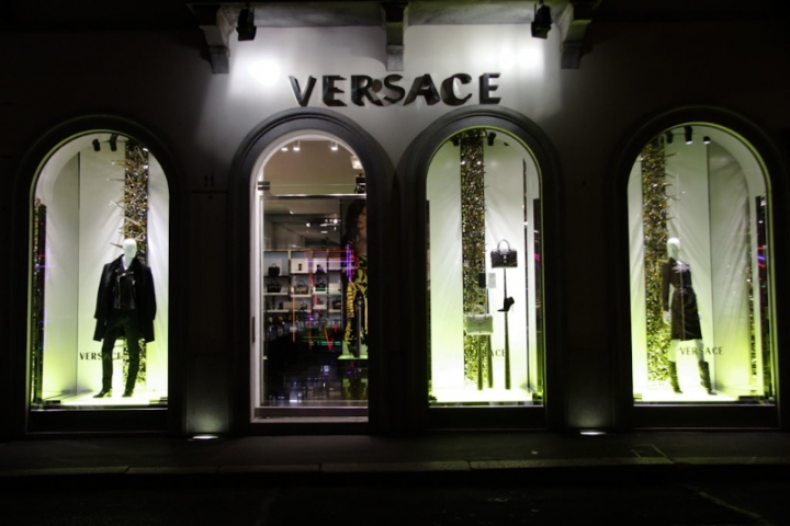 Versace windows display, Milan  2013