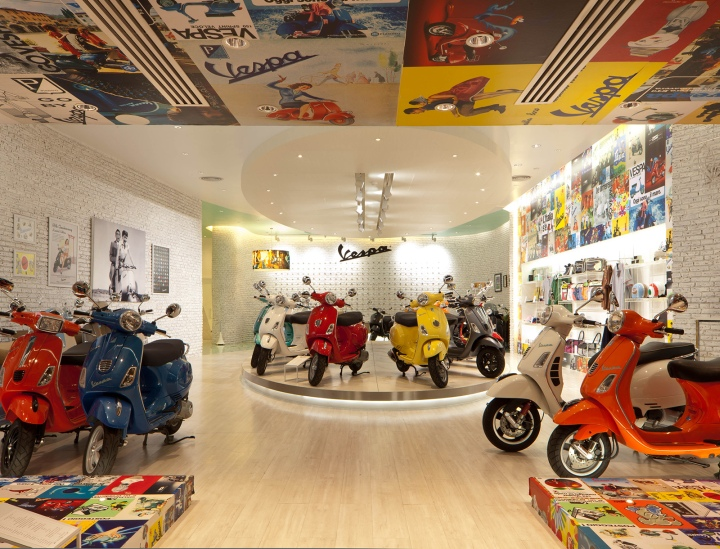 Vespa Gallery by Supermachine Studio, Bangkok