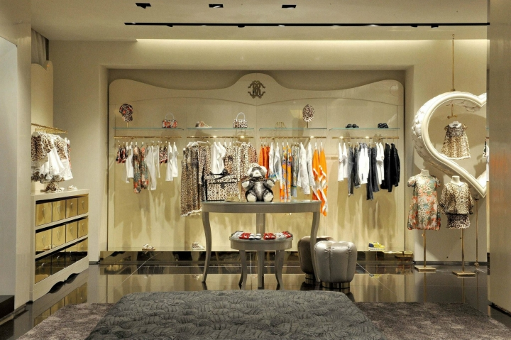 Roberto Cavalli boutique in Milan