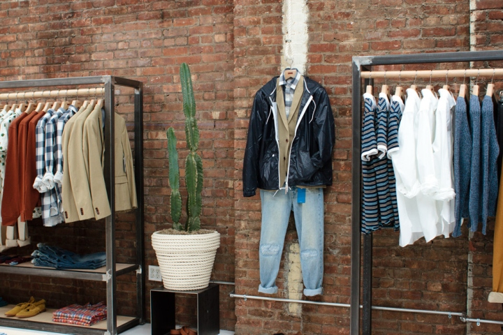 Shipley & Halmos pop-up shop, New York City