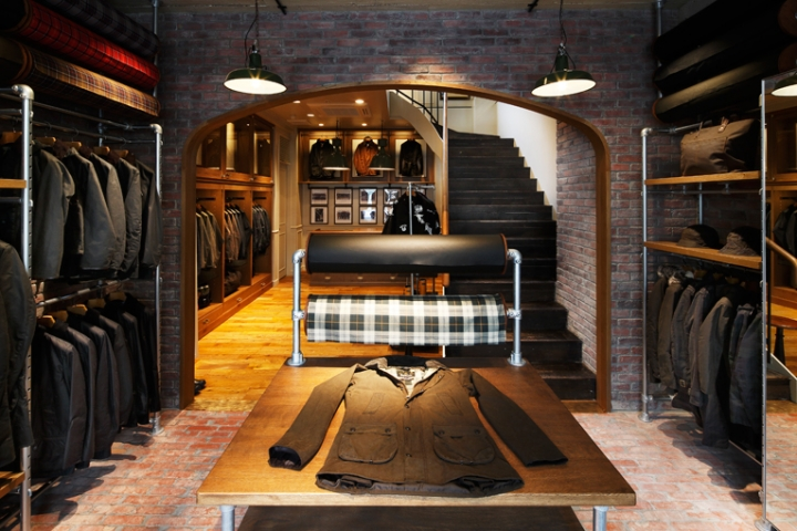 barbour flagship store opening