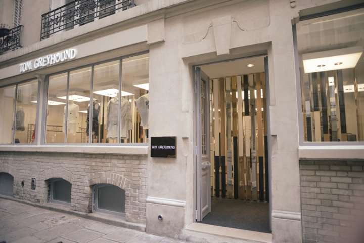 Tom Greyhound store opening in Paris