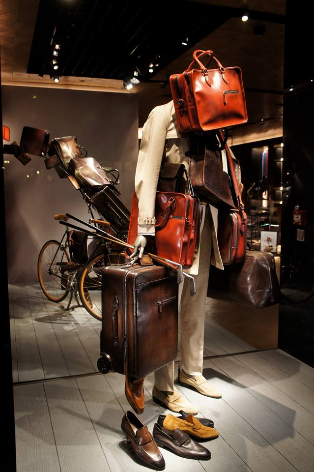 Berluti windows display