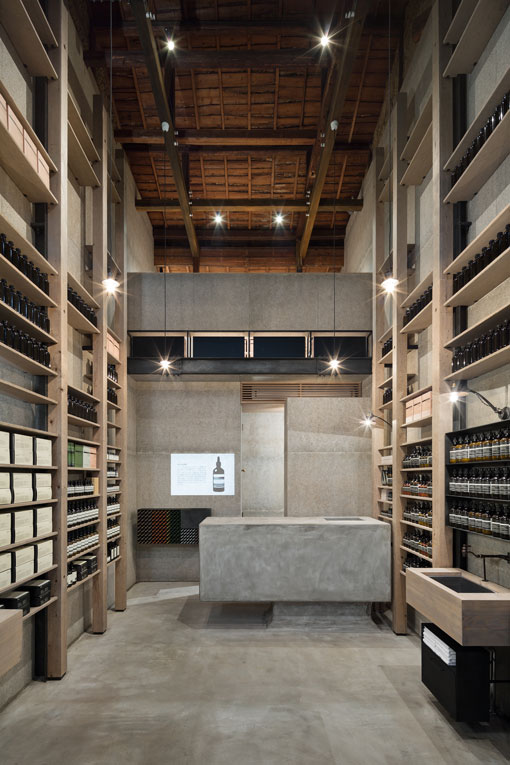 Aesop store opening in Osaka