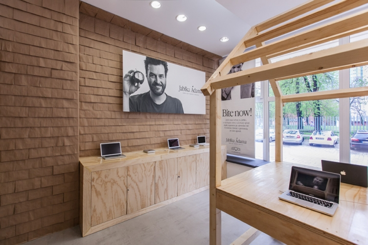 JabIka Adama Apple Store by mode: lina