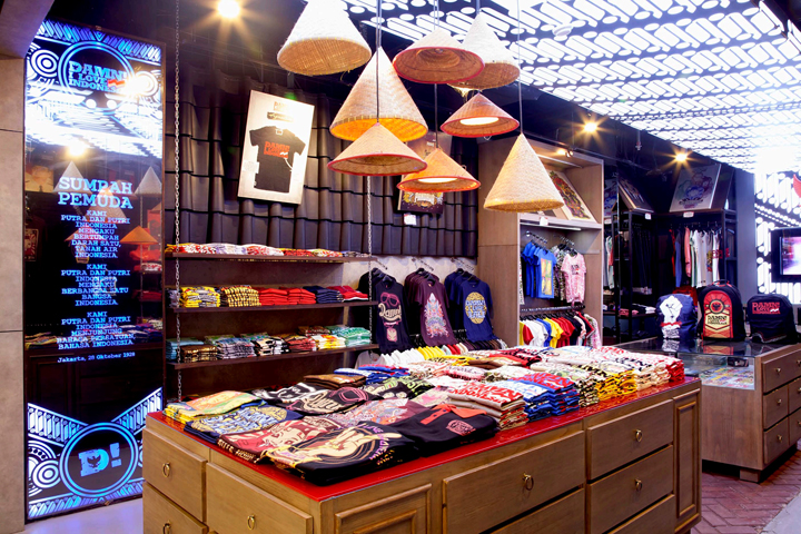 DAMN! I love Indonesia brand store by ACRD