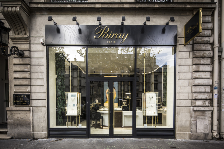 Poiray store by centdegrés, Paris – France