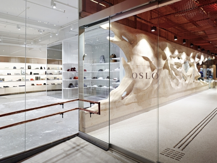 YME store in OSlo by Snøhetta