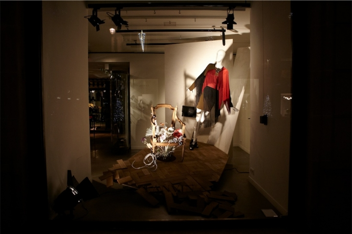 Lanvin windows display Paris