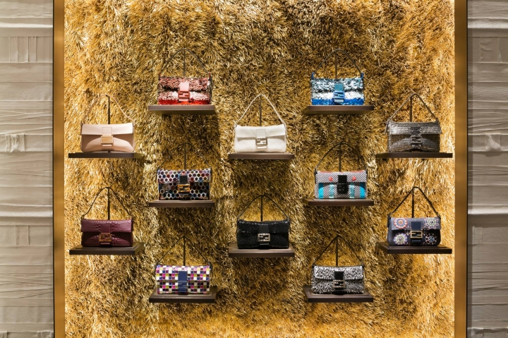 New Fendi Flagship store in Madison Avenue