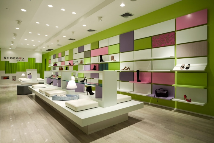 Shoebox store by Sergio Mannino Studio, New York City