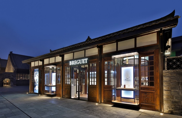 Breguet's new boutique in Chengdu