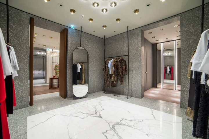 Valentino standalone store in Kingdom Tower, Riyadh