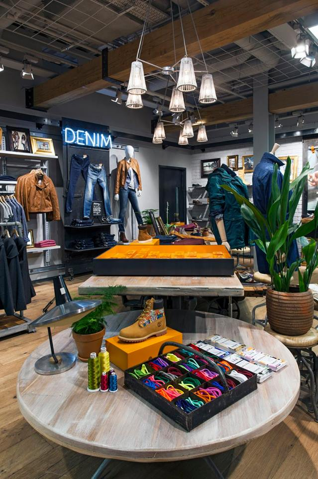Timberland store Regent Street by Dalziel and Pow