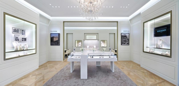 Boucheron debuts first store at Marina Bay Sands in Singapore