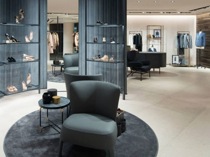 Max Mara flagship store in Tokyo's Aoyama district
