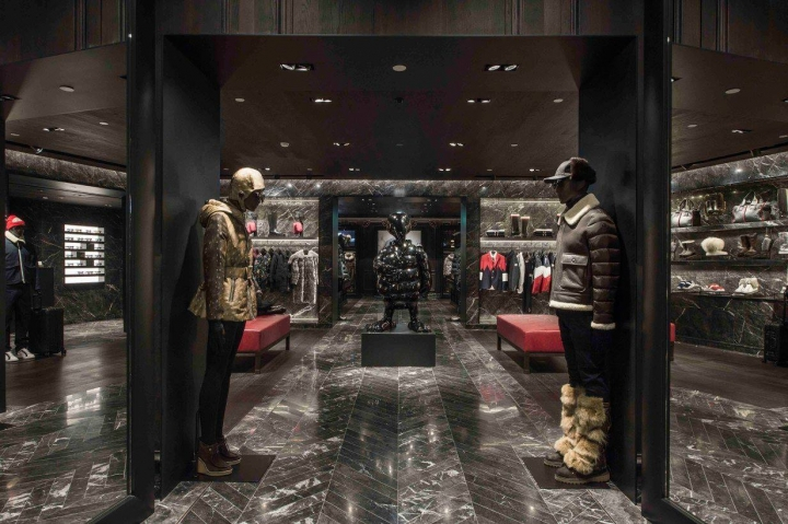 Moncler boutique in Taipei 101 Mall