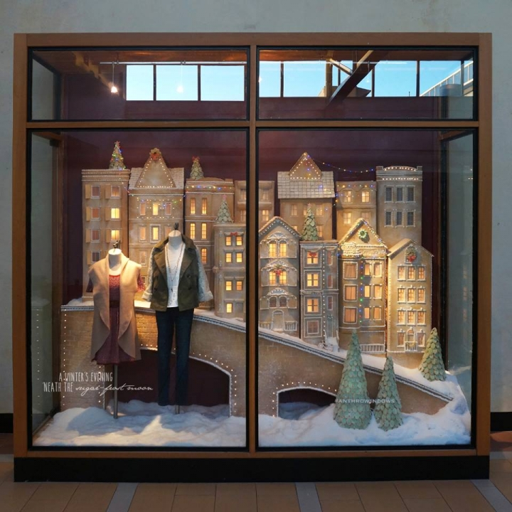 """Anthropologie Holiday 2015 Windows """"Sugared & Spiced"""""""