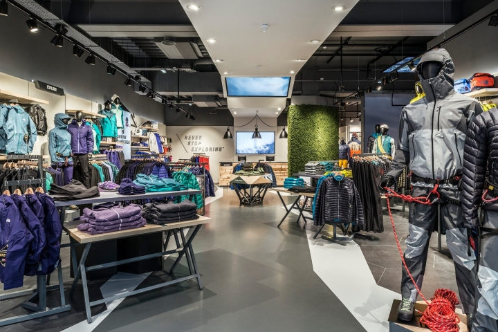 The North Face - Flagship Store by Green Room Design