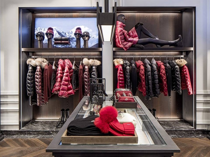 Moncler boutique in Houston