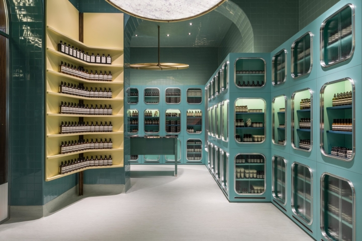 AESOP store design in MILAN by DimoreStudio