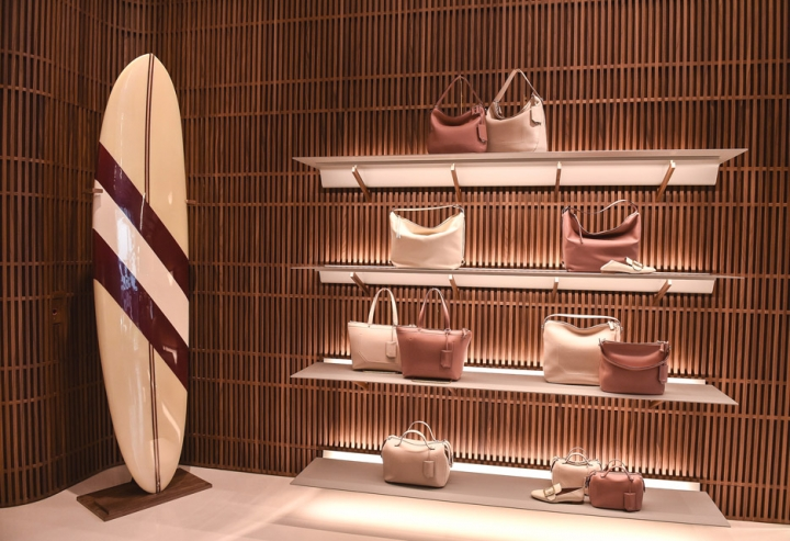 Bally store in  Beverly Hills by David Chipperfield