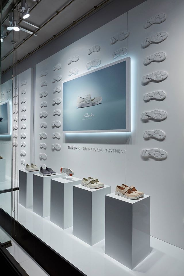 Clarks Shoes Trigenic window scheme by Harlequin Deisgn