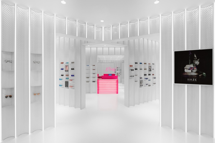 N3ON boutique sunglass store by Linehouse, Shanghai