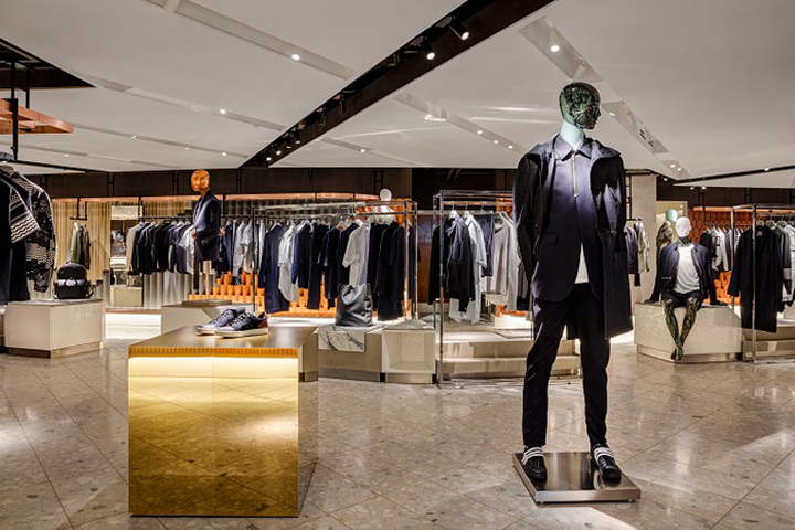 Harvey Nichols flagship store by Virgile + Partners
