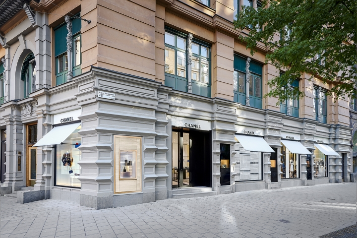 Chanel opens new boutique in Stockholm