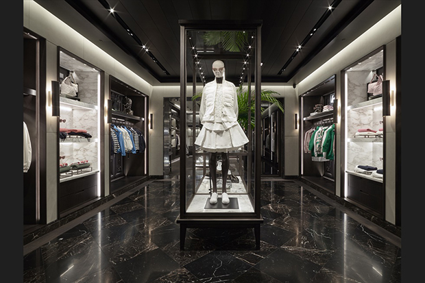 MONCLER FLAGSHIP STORE in LONDON