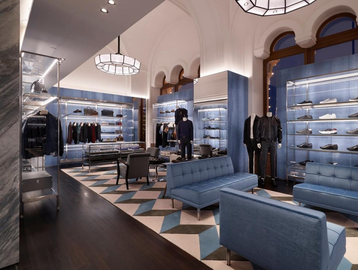 Prada store Moscow at GUM Mall