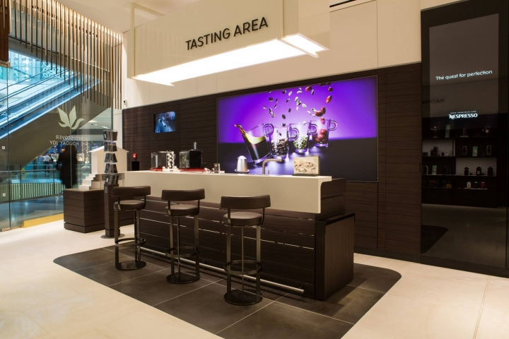 Nespresso boutique at Westfield Stratford