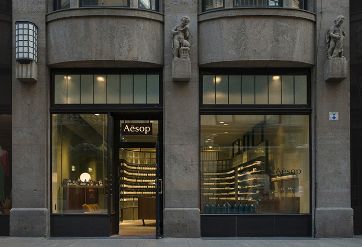 einszu33 develops aesop store Leipzig