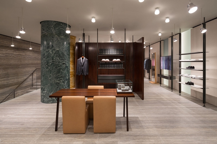 Brioni store by David Chipperfield Architects, New York