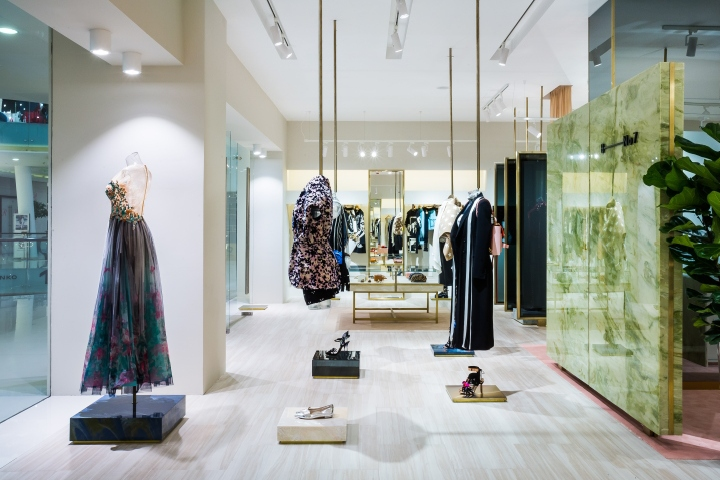 B-No7 art gallery store by CuldeSac, Moscow – Russia