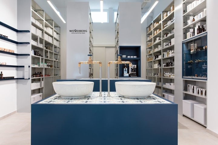 Woodberg – natural grooming supply store by why the friday, Darmstadt – Germany